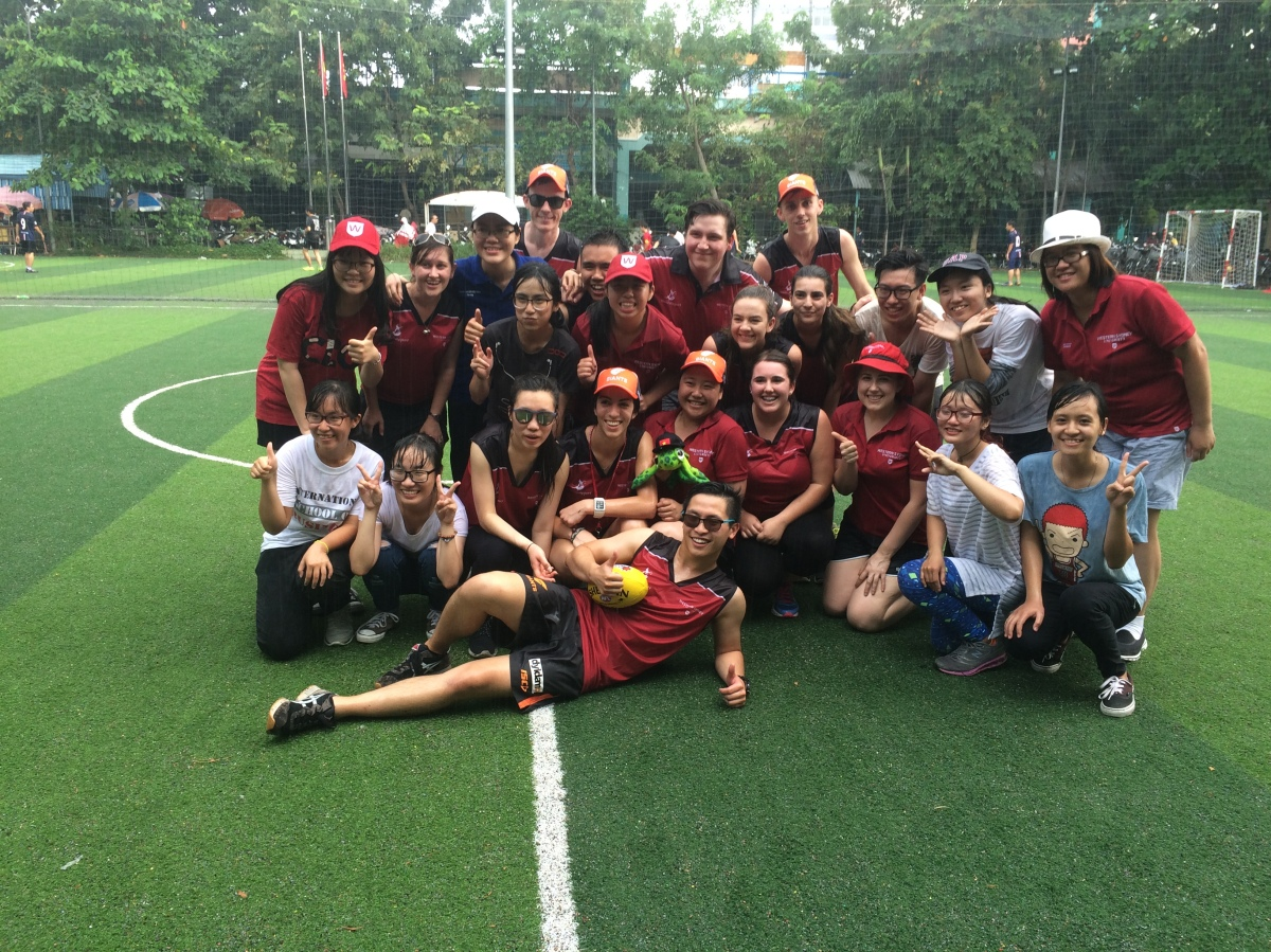 #AFLVietnam with the University of Economics Ho Chi Minh City