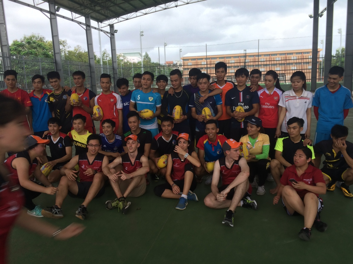 #AFLVietnam with Danang University of Physical Education and Sport