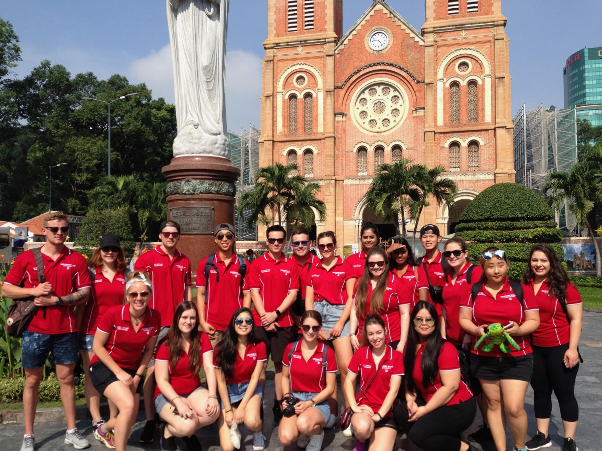Getting orientated in Ho Chi Minh City